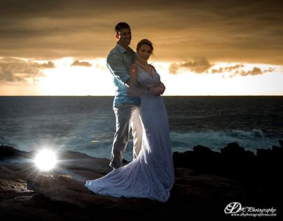 Wedding captured at Cape St Francis RSA