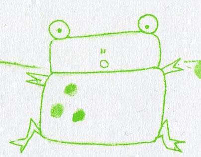 Little Frog's Tadpole Trouble