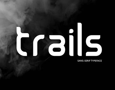 Trails typeface