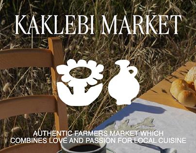KAKLEBI MARKET - Brand Identity