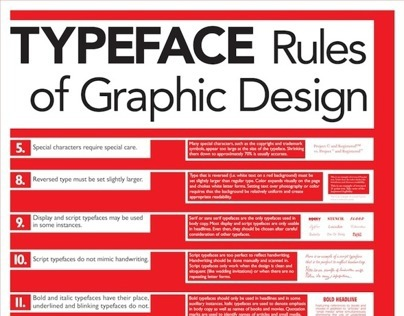 informational poster design
