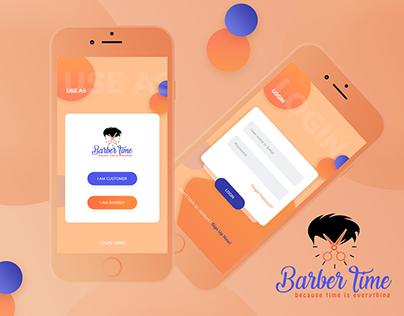 Find the barber app