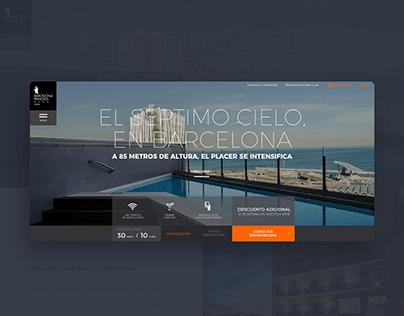 Barcelona Princess Hotel Website