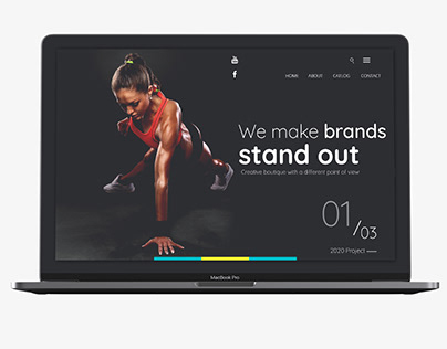 Fitness and Gym Landing Page