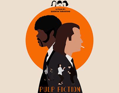 "film illustration 1 ""pulp fiction"""