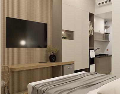 Desain Interior Apartemen - Jatiasih, Bekasi