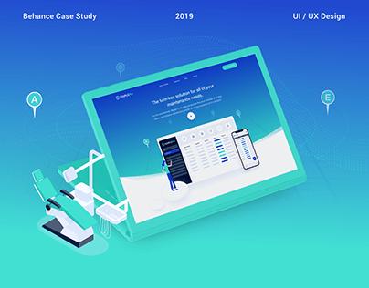 Management Platform (UI/UX, Illustrations)