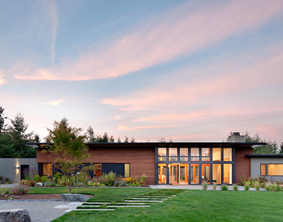 Olympia Prairie Home by Coates Design Seattle Architect