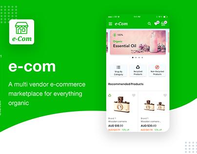 E-com a eco-friendly product platform