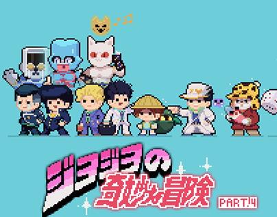 JOJO''s bizarre adventure in Pixel!