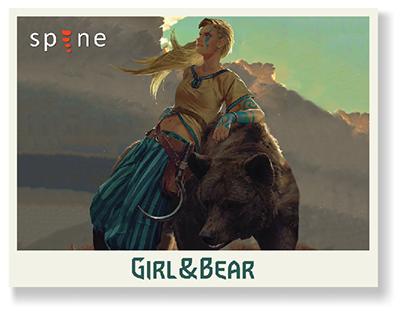 Girl&Bear