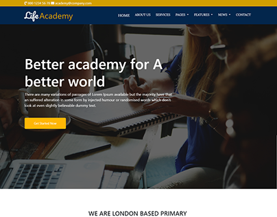 life academy-Fully responsive