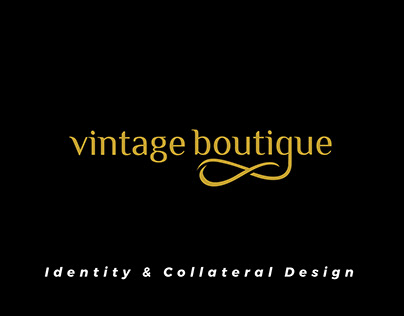 Vintage Boutique | Brand Identity | Digital Verto