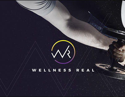 WELLNESS REAL | BRAND DESIGN. Health and Fitness
