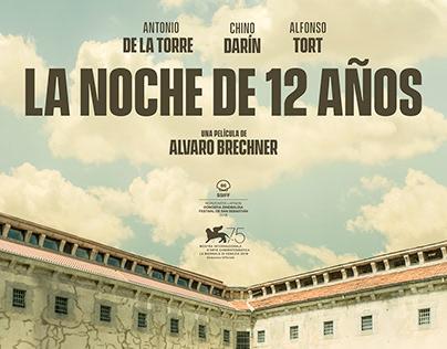 La Noche de 12 Años Teaser Poster