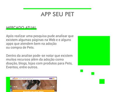 App seu pet (Pesquisa, Personas e Wireframe)