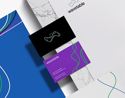 Wavetable brand design