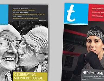 Testimony Magazine Redesign