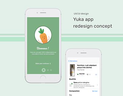 Yuka app Redesign Concept - Case Study
