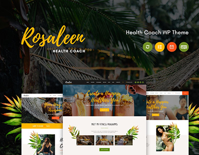 Rosaleen - Health Coach, Speaker & Motivation WP Theme