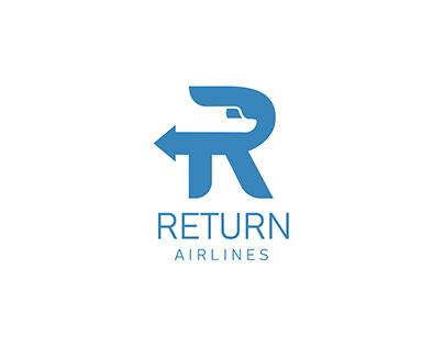Diseño de logotipo para Return Airlines