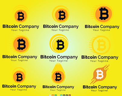 Bitcoin Illustration Vector Design