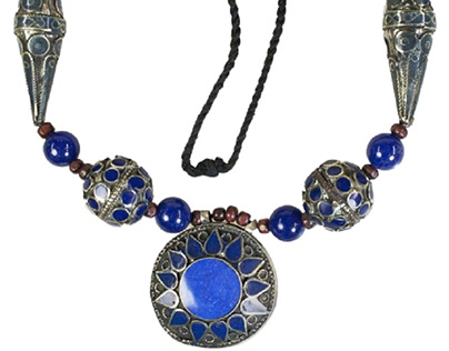 Ancient jewelry collection: Near Eastern necklace