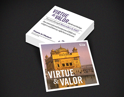 Virtue and Valor Palm Card