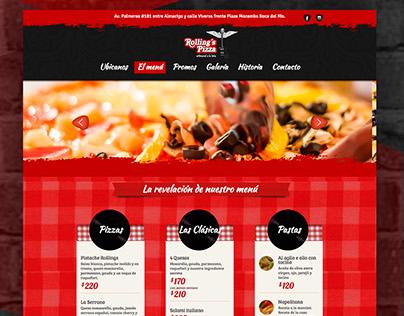 Rollings Pizza - WebSite