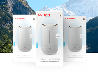 Packaging design for LERAN air humidifier