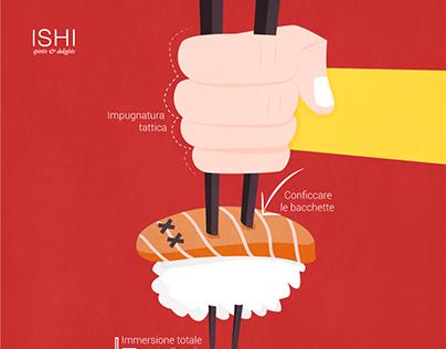1 Aprile Illustrazione sushi
