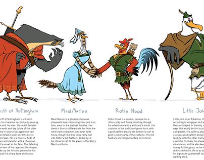 Character Design: Robin Hood