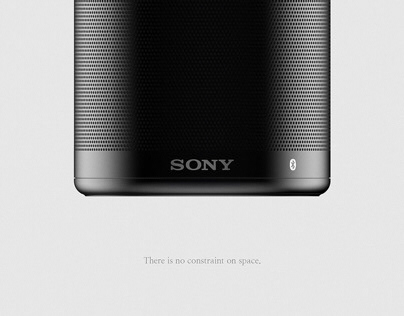 SONY Bluetooth Speaker Concept design