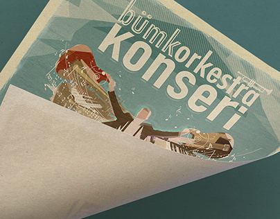 BUMKOrkestra: April 2016 Concert Poster