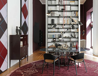 The Most Stunning Mid-Century Modern Showroom in Milan
