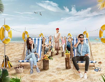 ABK BANK Summer Campaign