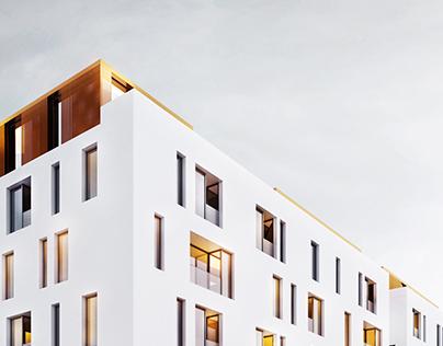 White & Gold / Residential