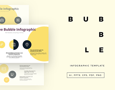 Free - Bubble Infographic Template