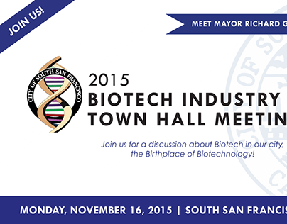 City of South San Francisco | 2015 Biotech Town Hall