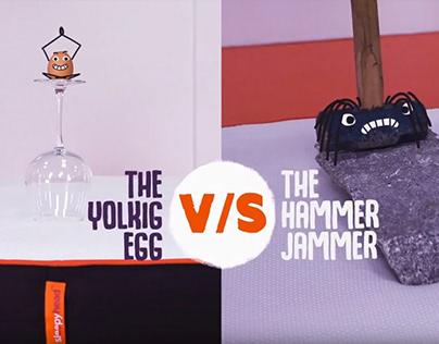 Egg VS Hammer, Sleepyhead