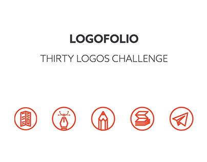 Logofolio: 30 logo challenge