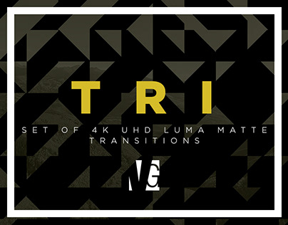 TRI: 4K Luma Matte Transitions