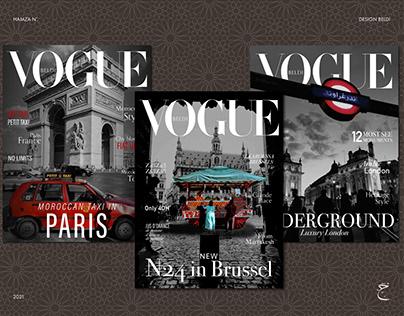 Vogue Beldi   Brussel, Paris, London