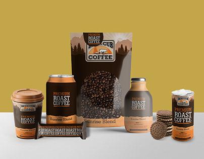 Beautiful Coffee Branding Mockup