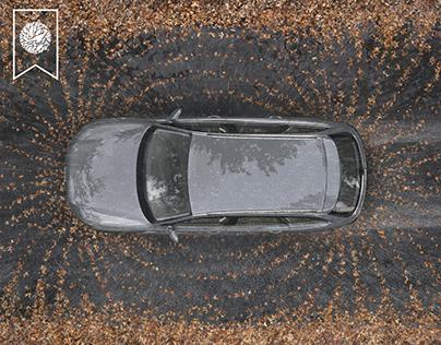 Audi Quattro - Magnetic Force Print