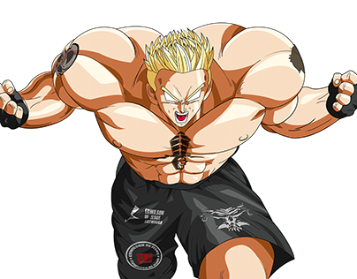 Brock Lesnar DBZ version