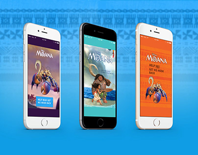 Moana Online Advertising