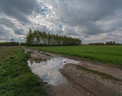 Landscapes after Rain