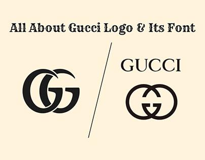 The Logo Font Of Gucci (Gucci Font)