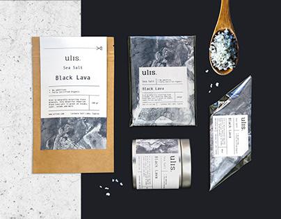 ULIS. Natural Salt. Packaging project